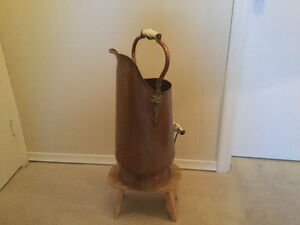 Copper Coal Scuttle/Pail