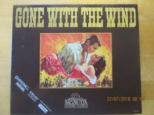 GONE WITH THE WIND, MGM/UA VIDEO, VHS - 1985