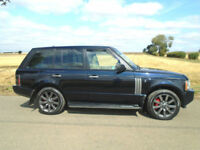LAND ROVER RANGE ROVER 3.6 TD V8 VOGUE SE 5DR BUCKINGHAM BLUE - MEGA SPEC