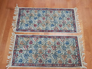 Moving Sale - 2 Rugs (22 1/2 by 48 inches) each