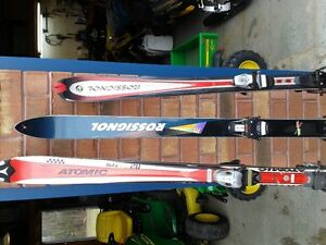 Old Down Hill Skis