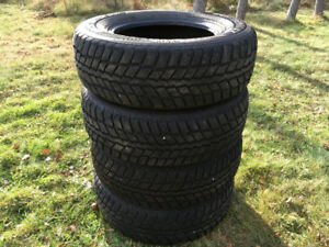 Set of 4 15 inch Winter Tires