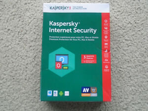 Kaspersky Internet Security...3 Users...1 Year...ONLY $20 !!