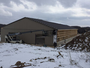 BRAND NEW STABLE!  Horse Board/Boarding Trigaire