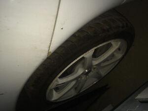 1995 Mitsubishi Eclipse White Coupe (2 door)