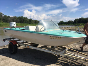 Boat,motor and trailer, also have a camper