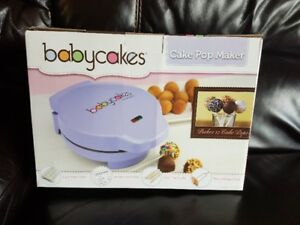 Brand New Babycakes Cake Pop Maker