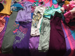 Bunch of girls clothes