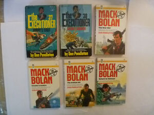 MACK BOLAN - The Executioner Paperbacks - many to choose from