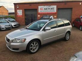 2009(59) Volvo V50 1.6 D DRIVe S Silver 5dr Estate, **ANY PX WELCOME**