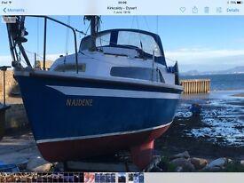 Invader 21 sailing yacht