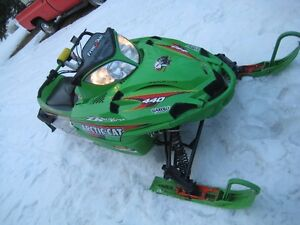 VERY RARE 02 ZR 440 SnoPro FireCat Prototype.