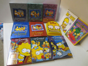 DVD Sets The Simpsons Seasons 1-9
