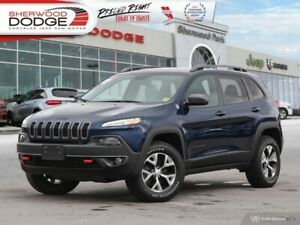 2018 Jeep Cherokee Trailhawk 4x4  HEATED SEATS | REMOTE START