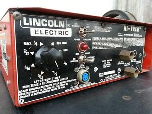 ***Aluminum Welding***  Lincoln Electric High Frequency