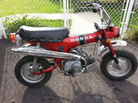 Honda ct 70 1971 rouge
