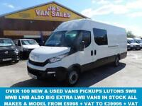 2015 65 IVECO-FORD DAILY 35/130 BHP EXTRA L.W.B 4.7 MTS LASTEST MODEL ONLY 13000