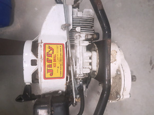 jiffy ice auger.