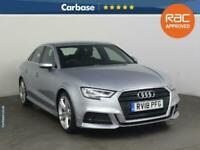 2018 Audi A3 1.5 TFSI S Line 4dr S Tronic SALOON Petrol Automatic