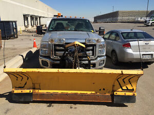 2012 Ford F-250 Pickup Truck with Snowplow and Salter