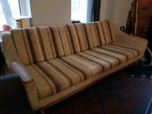 R. Huber & Co. Mid Century Modern Couch & Matching Chair