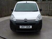 2017 Citroen Berlingo Berlingo Enterprise L1 1.6 Manual Diesel SWB Panel Van Die
