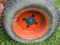 wanted 20.5x8-10 tires and rims for kubota B6100-B7100