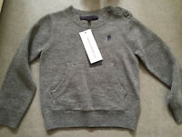French Connection boys wool jumper size 2-3 years brand new