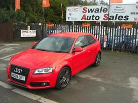 2009 AUDI A3 S-LINE 2L TDI ONLY 67,339 MILES, FULL SERVICE HISTORY