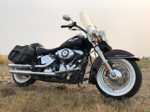 ***trade 4 Vehicle***  2014 Harley Davidson Softail Deluxe