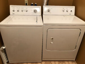 Washer and dryer kenmore g80.
