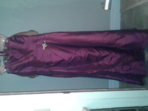 Stunning Cranberry Bridesmaid/Prom/New Years Dress $250 OBO
