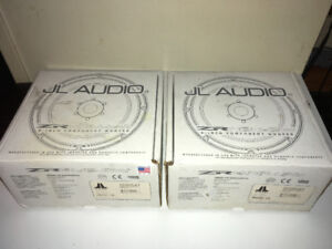 Pair, 2, JL Audio ZR800-CW 8 Inch Component Woofer / Mid-Bass
