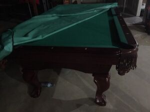 pool table with delivery and installation
