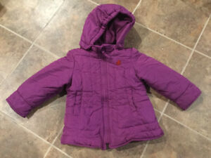 MEXX baby girl winter coat size 24-30 months old