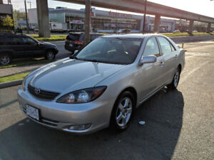 2002 Toyota Camry SE V6 Fully Loaded Local 1 Owner No Accidents!