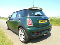 2013 MINI HATCH 2.0 COOPER SD (SPORT CHILI) 3DR BRITISH RACING GREEN - £30 TAX