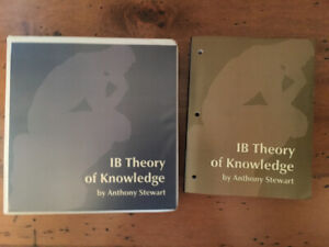 IB Theory of Knowledge, Teacher Resource ($650 new)