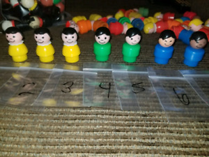 Vintage Fisher-Price Little People children