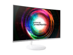 "Samsung 27"" Wide Quantum Curved QLED Monitor LC27H711QENXZA"