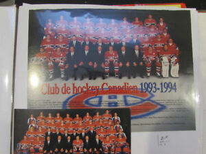 canadiens montreal photo d'equipe team photos