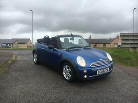 2005 55 Mini One 1.6 Convertible ( Pepper ), 66000 miles