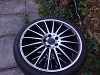 """19"""" Mercedes AMG alloy wheels"""