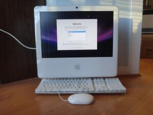 Apple iMac A1195 ( one line in screen )