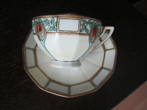 CUP and SAUCER, LIMOGES