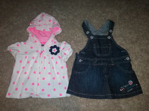 2-piece baby girl outfit, 3-6 months, brand new condition