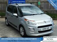 Citroen C3 Picasso 1.6 Exclusive 16v - Automatic - Only 19k Miles - 5 Dr - 2015