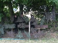 Shooting Equipment, Shotgun Case, Gun Case, Hunting, Camouflage, Equipment wanted, Cash Waiting....