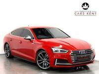 2017 Audi A5 S5 Quattro 5dr Tiptronic Hatchback Petrol Automatic