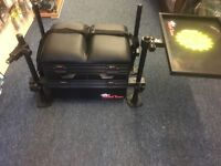 Matchteam 2000 Seat Box with Side Tray and Net Arm SALE
